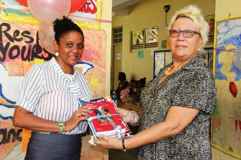 Library Week – Au Cap school promotes Seychellois authors